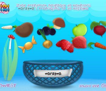 Gra online dla dzieci Sortowanie