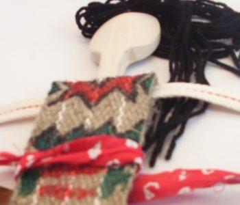Jak zrobić indiańską lalkę z łyżki