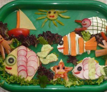 Kanapeczki podwodny świat