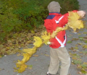 Latawce z liści