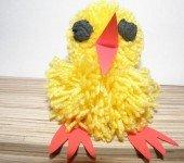Wełniany-kurczak