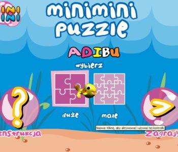 Puzzle Mini Mini Adibu - gra online dla dzieci