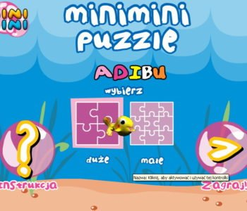 Puzzle Mini Mini Adibu