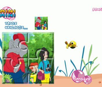 Puzzle Słoń Benjamin – gra online dla dzieci