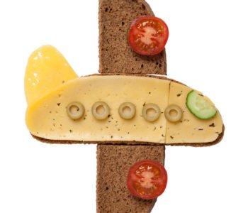 Przepis na kanapkę – samolot