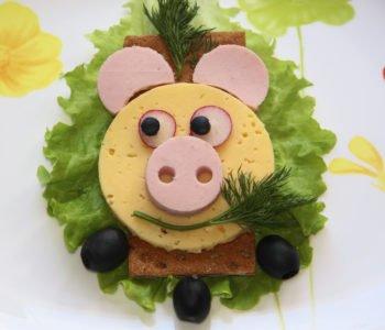 Przepis na kanapkę – świnkę