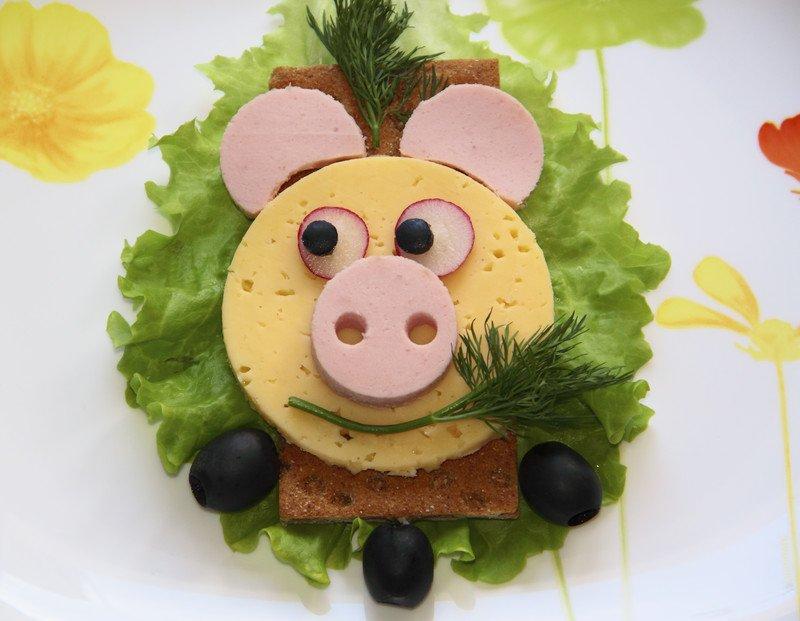 przepis na kanapkę świnkę