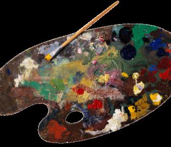 pixabay farby pędzel paleta