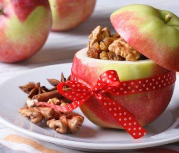 Przepis na jabłko faszerowane bakaliami
