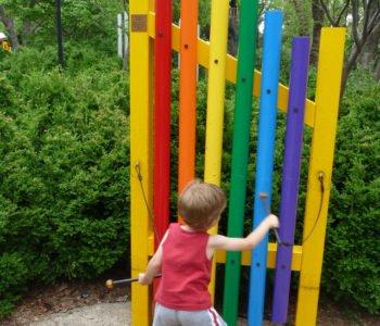 instrument dla dziecka ogrodowe cymbałki