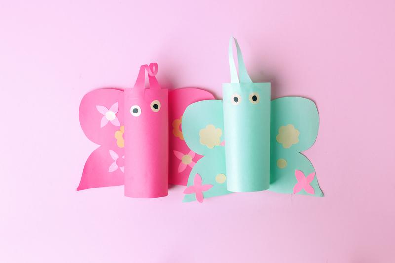 motyle handmade zabawa dla dzieci