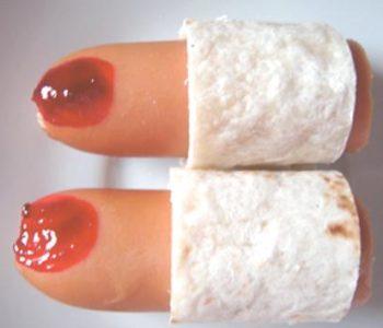 Przepis na ucięte palce – straszna potrawa na Halloween
