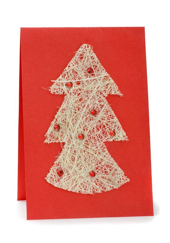 Jak zrobić kartkę świąteczną z dziećmi DIY