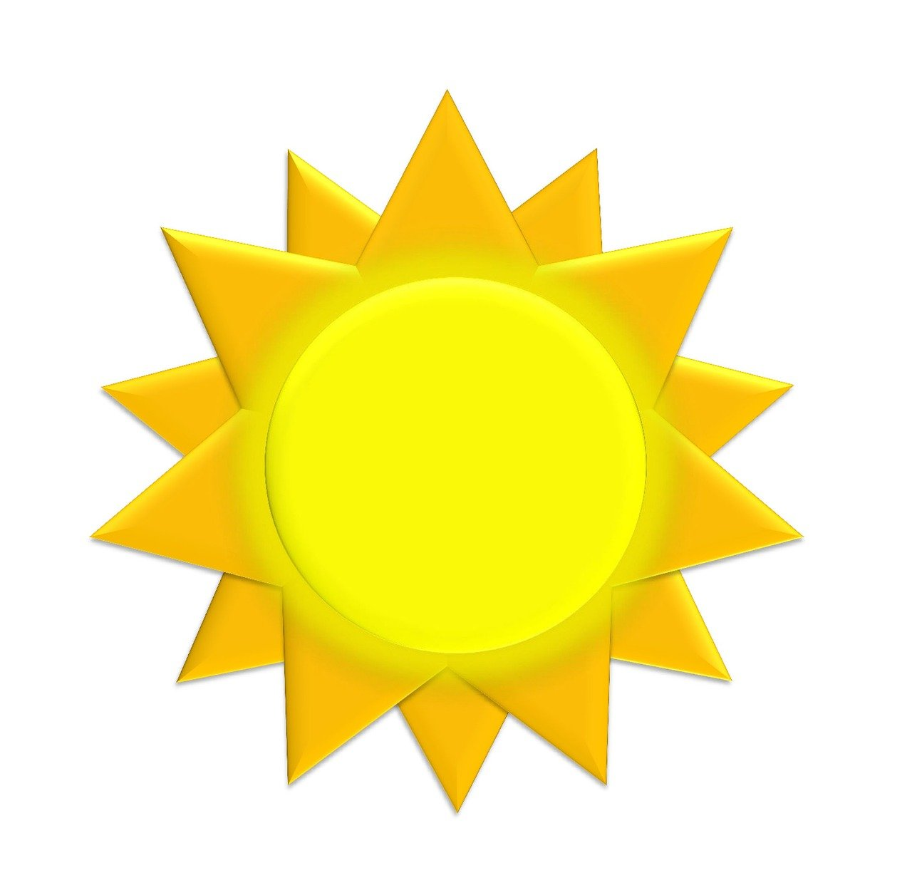 pixabay słońce rysunek