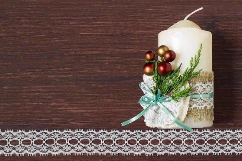 Świeczka bożonarodzeniowa
