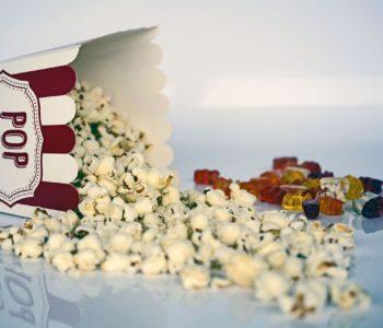 Naszyjnik z popcornu