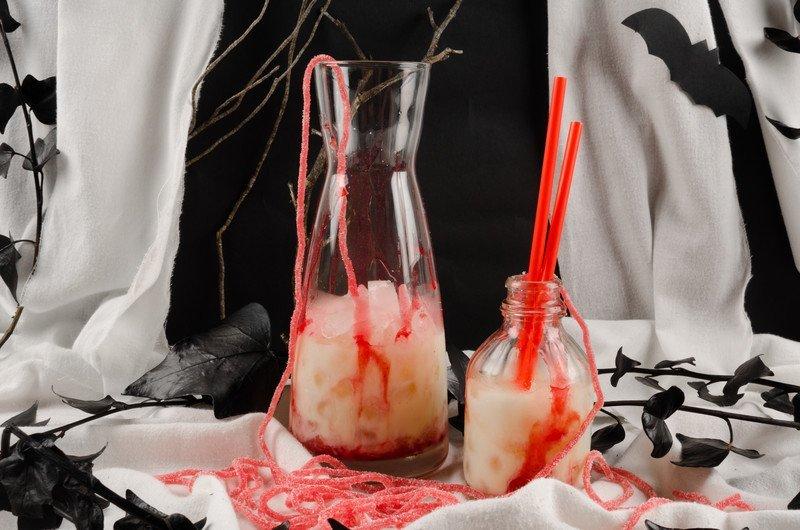 straszny drink na Halloween