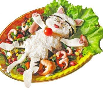 Przepis na kotka z ryżu