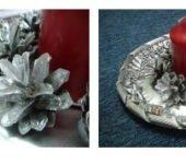 srebrny swiecznik