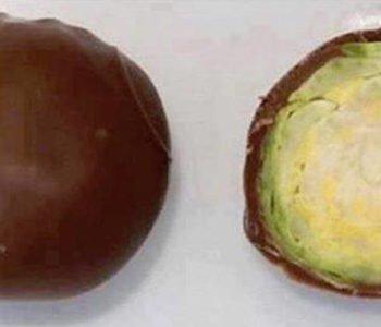 żart na Prima Aprils paskudne czekoladki
