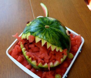 Przepis na straszną paszczę z arbuza