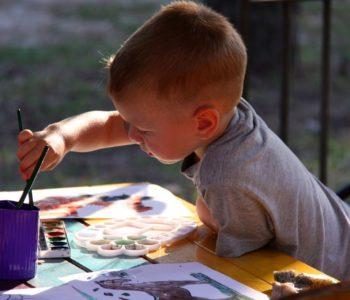 Artystyczna dusza w dziecku