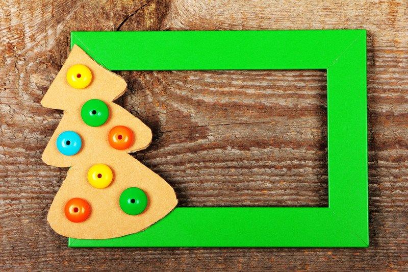 Ramka na zdjęcie Boże Narodzenie zabawy świąteczne dla dzieci