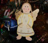 anioł święta boże narodzenie choinka ozdoba dekoracja