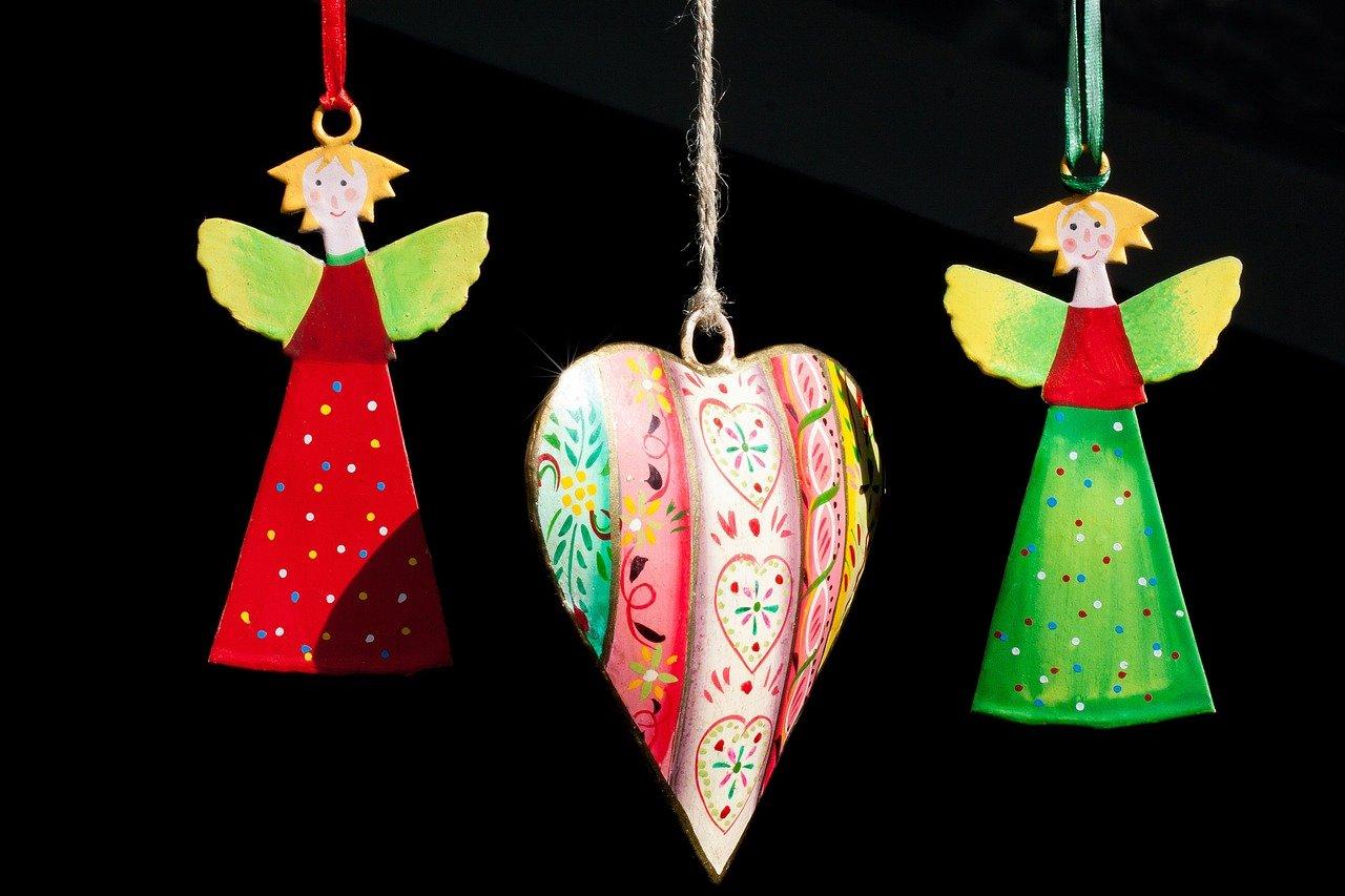 anioły choinka dekoracja święta