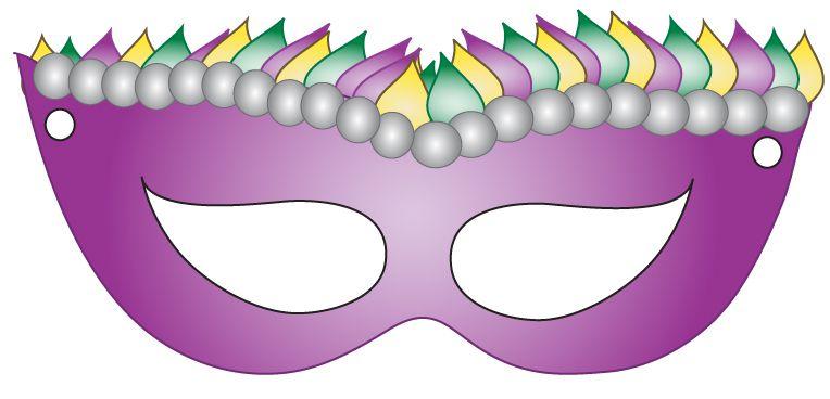 maska karnawałowa do wydruku