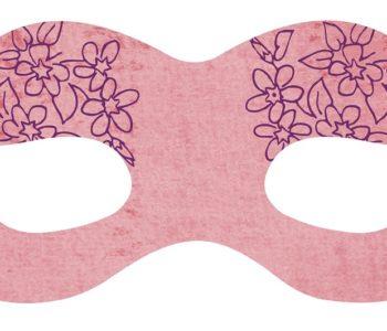 Karnawałowa maska z torebki papierowej