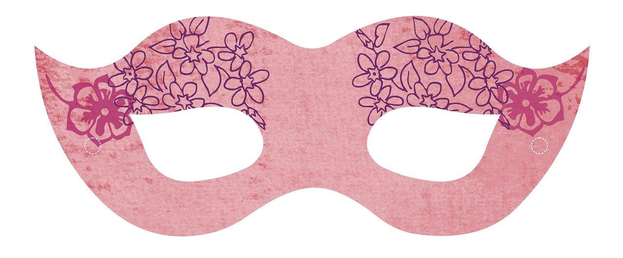 pixabay maska karnawałowa