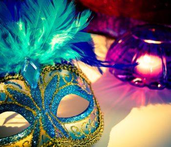 Klasyczna maska karnawałowa
