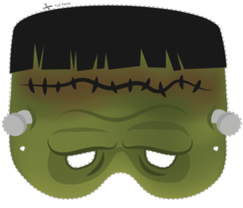 Maska do wydruku Frankenstein