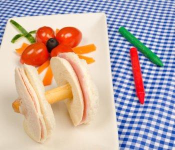 Przepis na kanapki – hantle, ciężarki