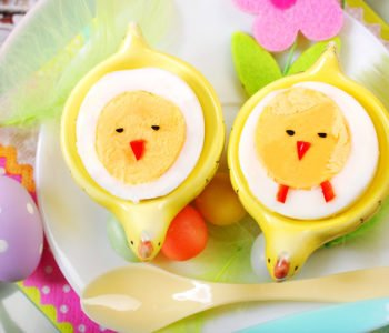 Przepis na jajka na twardo – kurczaczki