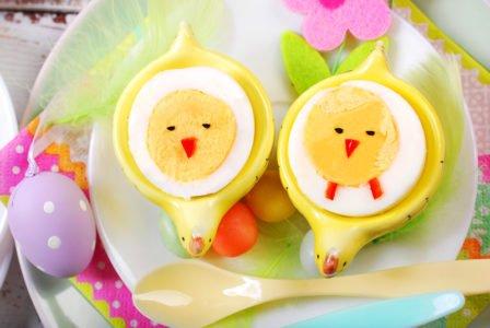 przepis na jajka kurczaczki