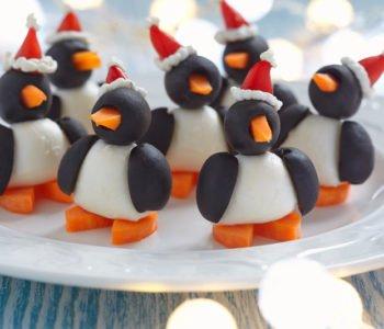 Przepis na zabawne zimowe pingwinki