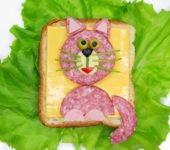 przepis na kanapkę z kotem dla dziecka