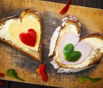 Pomysł na śniadanie na Dzień Matki lub Walentynki