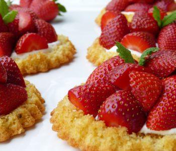 20 przepisów na truskawkowe desery dla dziec i