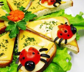 Przepis na kanapki z biedronkami