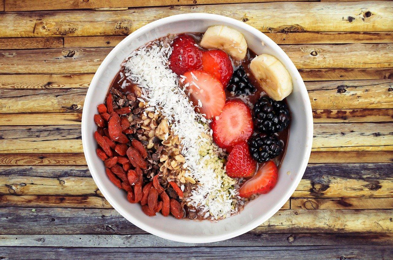 przepis na sałatka owocowa śniadanie zdrowe owoce