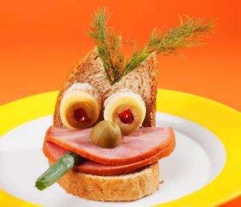 Przepis na kanapkę – straszny stworek