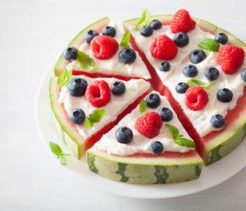 Zdrowy tort na przyjęcie urodzinowe