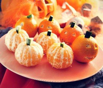 Przepis na dynię z pomarańczy – owocowe danie na Halloween.