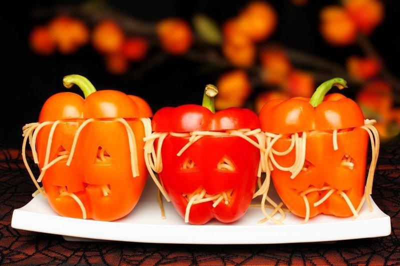 warzywne duszki z makaronem