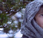 dziewczynka zimą bal dla księżniczek