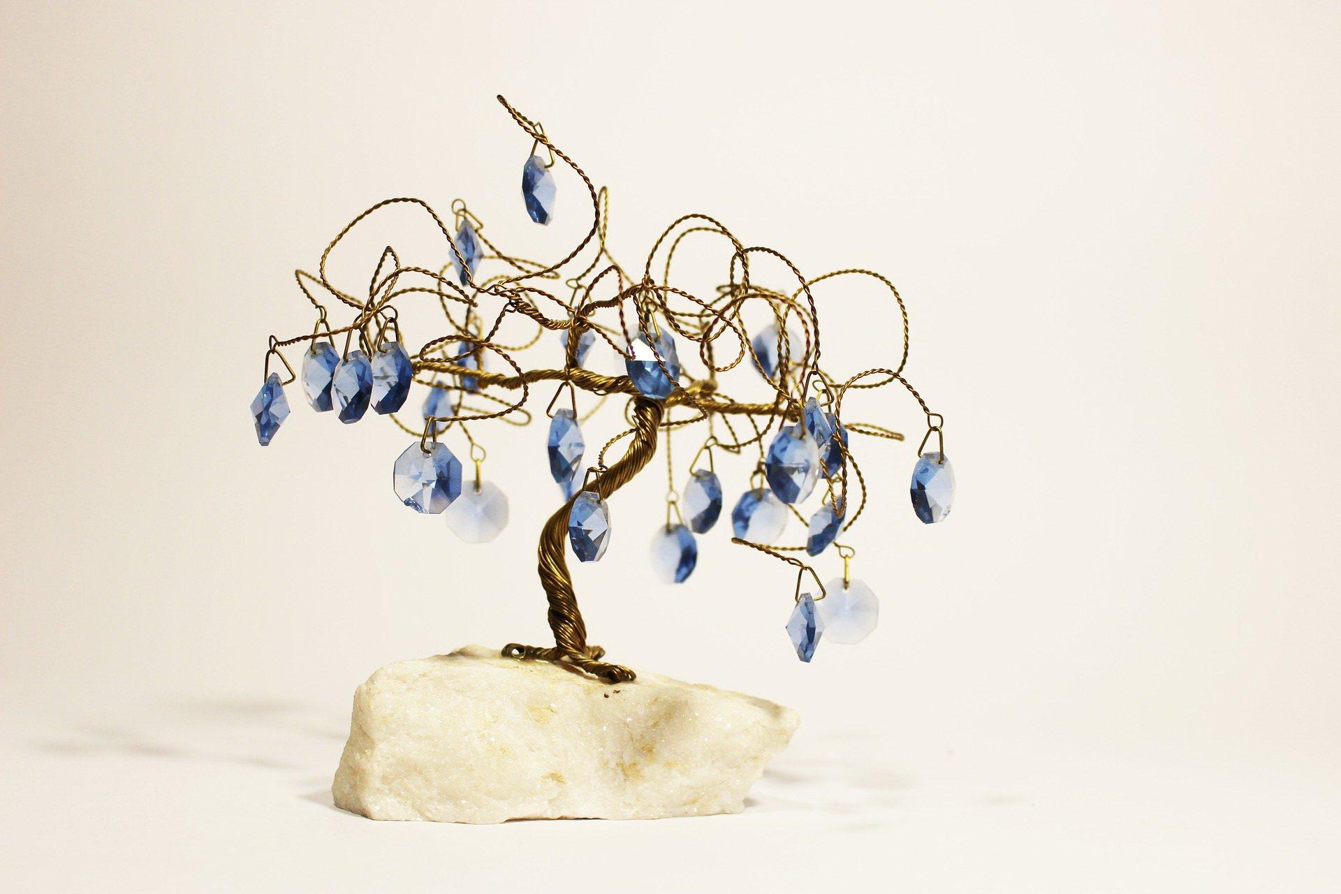 drzewko szczęścia z drucików jak zrobić