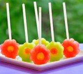 przepis na lizaki z arbuza i melona